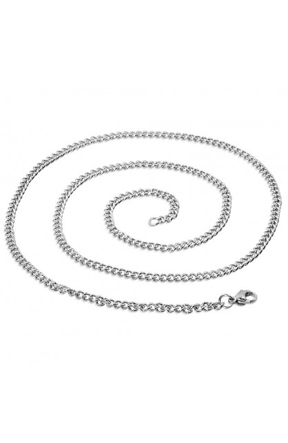 STAINLESS STEEL LOBSTER CLAW CLASP CLOSURE CURB CUBAN LINK CHAIN