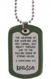 CALLED TO DUTY FAITH TAG NECKLACE