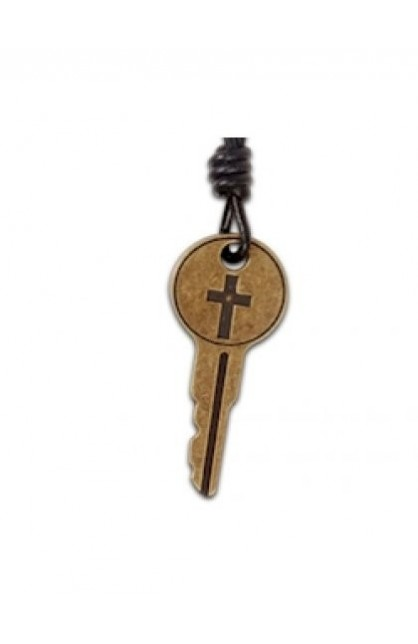 KEY CROSS FAITH GEAR NECKLACE