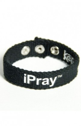 IPRAY FAITH GEAR CANVAS BRACELET