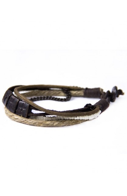 REAL LEATHER BRACELET 1