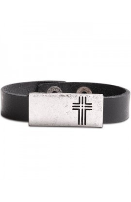 BOX CROSS BRACELET