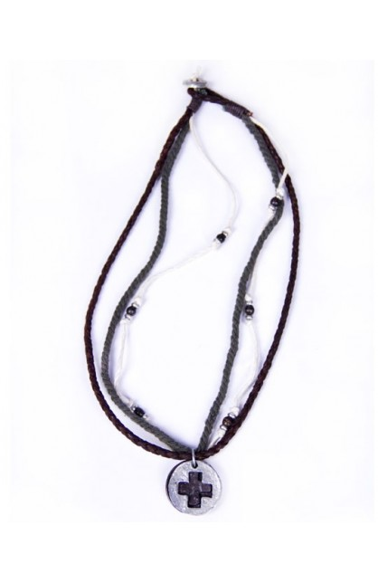 REAL LEATHER NECKLACE 3