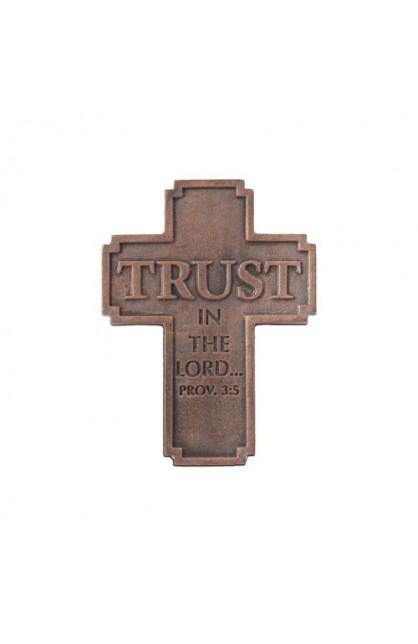 TRUST RESIN CROSS MAGNET