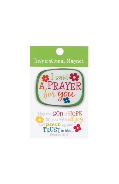 I SAID A PRAYER COLORFUL MAGNET
