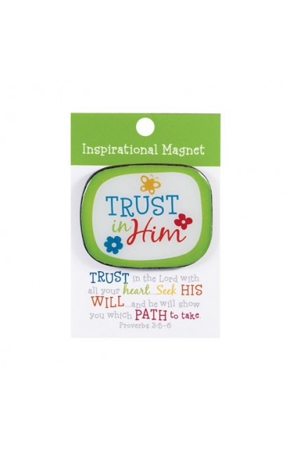 TRUST IN HIM COLORFUL MAGNET