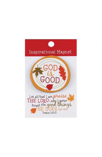 GOD IS GOOD COLORFUL MAGNET