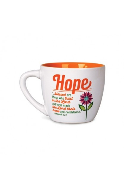 HOPE HAPPY CERAMIC MUG