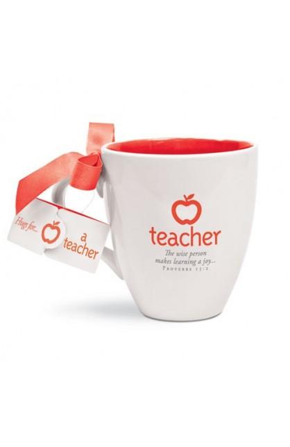 MY TEACHER CUP OF HUGS CERAMIC MUG