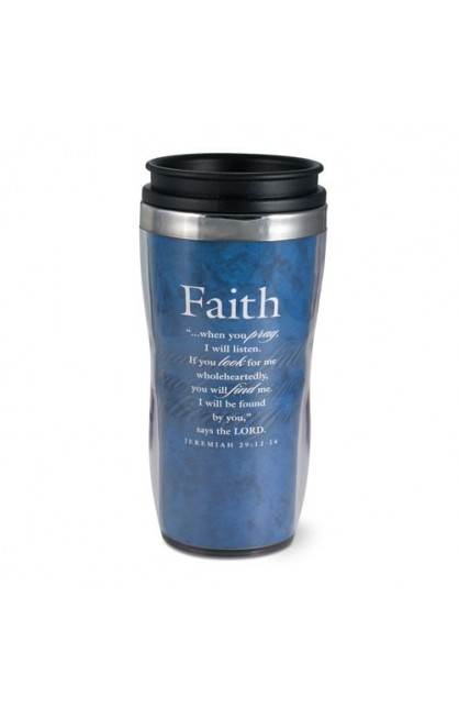 FAITH WAVY ACRYLIC TUMBLER