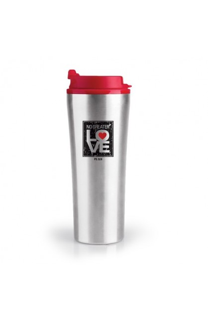 NO GREATER LOVE STAINLESS STEEL TUMBLER