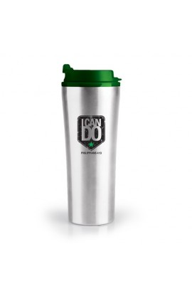 I CAN DO STAINLESS STEEL TUMBLER