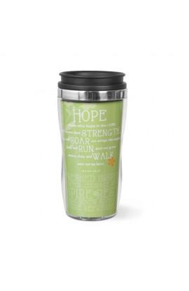 HOPE WAVY ACRYLIC STAINLESS STEEL TUMBER