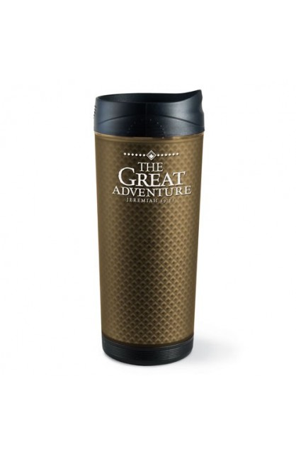THE GREAT ADVENTURE FROSTED TALL TUMBLER