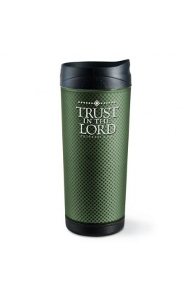 TRUST IN THE LORD FROSTED TALL TUMBLER