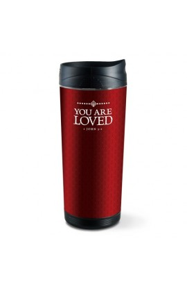 YOU ARE LOVED FROSTED TALL TUMBLER