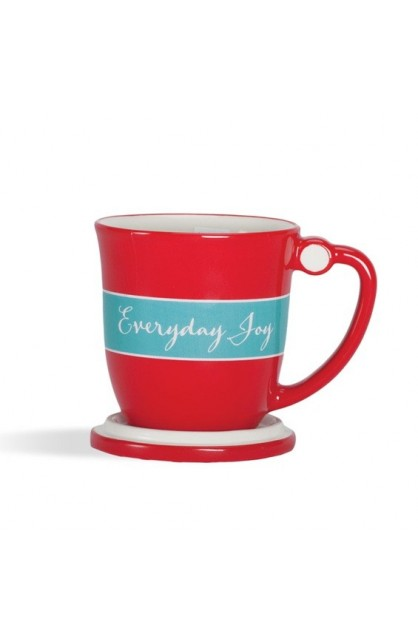 EVERYDAY JOY TEACUP WITH LID
