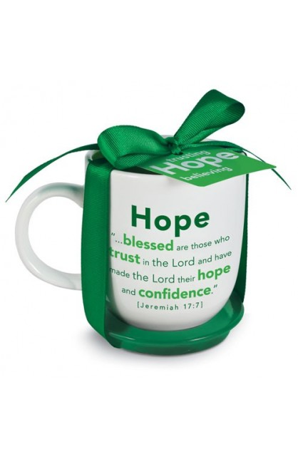 HOPE MUG WITH COASTER