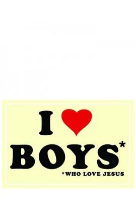 I LOVE BOYS POSTER 74