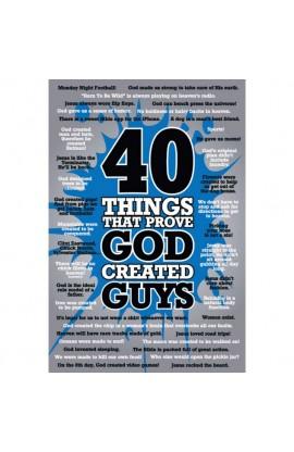 40 GUYS POSTER 109