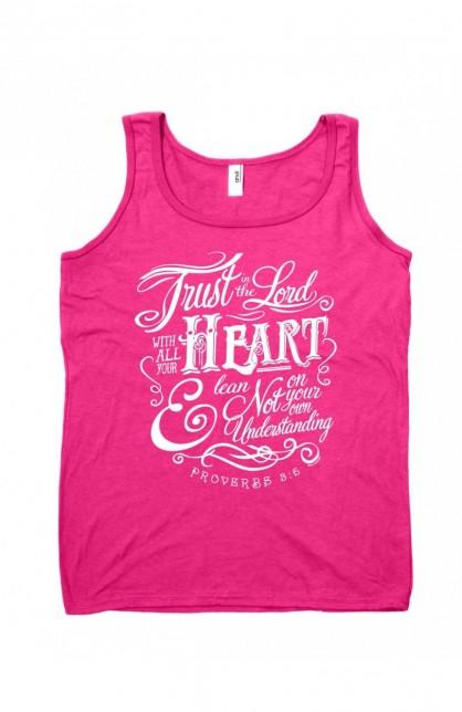 TRUST IN THE LORD WOMEN TANK TOP