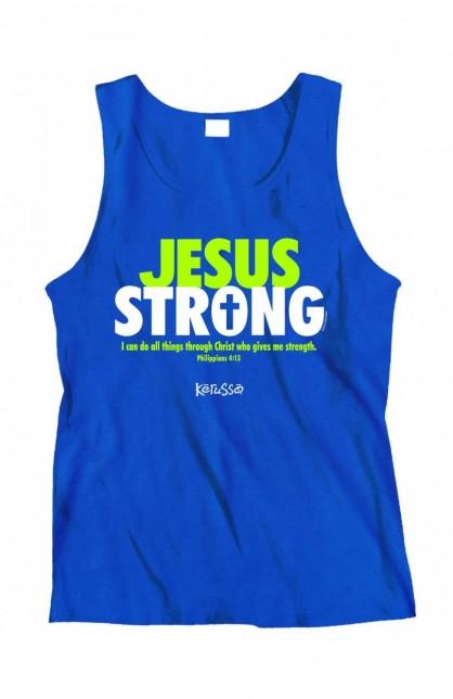 JESUS STRONG TANK TOP