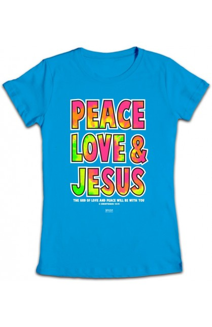 PEACE LOVE JESUS JUNIOR T