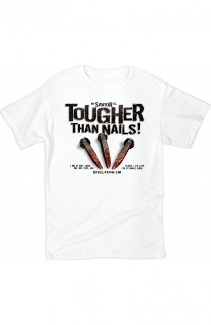 TOUGHER THAN NAILS ADULT T