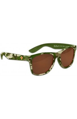 CAMO CROSS SUN GLASSES