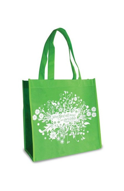 ALL THINGS ARE POSSIBLE ECO TOTE