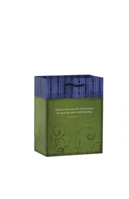 BLESSED IS THE MAN MEDIUM GIFT BAG