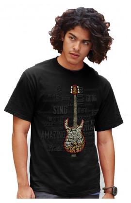 AMAZING GUITAR ADULT T SHIRT