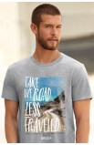 TAKE THE ROAD ADULT T-SHIRT