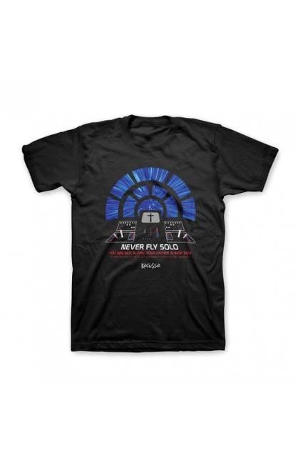FLYING SOLO ADULT T-SHIRT