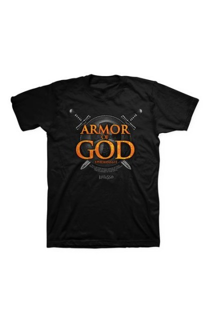 ARMOR OF GOD ADULT T-SHIRT