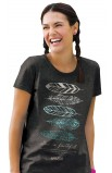 FEATHERS MISSY T-SHIRT