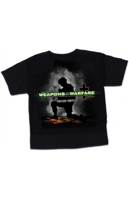 WEAPONS OF OUR WARFARE KIDS T-SHIRT