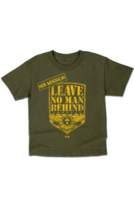 NO MAN LEFT BEHIND KIDS T SHIRT