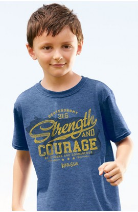 STRENGTH BEAR KIDS T SHIRT
