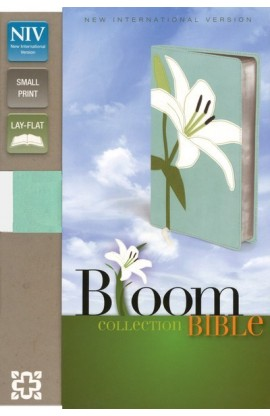 COMPACT THINLINE BLOOM COLLECTION BIBLE WHITE LILY