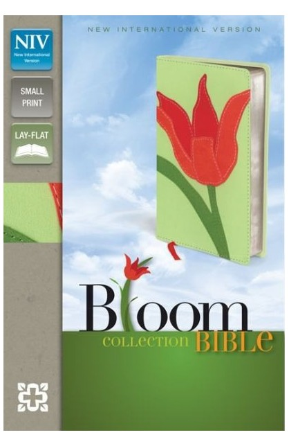 NIV BLOOM COLLECTION BIBLE COMPACT RED TULIP
