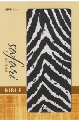 NIV SAFARI COLLECTION BIBLE ZEBRA