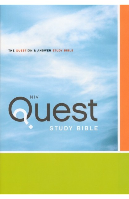 NIV QUEST STUDY BIBLE HARDCOVER