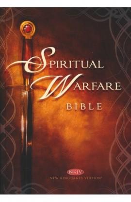 NKJV SPIRITUAL WARFARE BIBLE HARD COVER