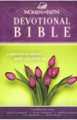 NKJV WOMEN OF FAITH DEVOTIONAL BIBLE HARDCOVER