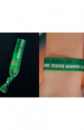 KNOW JESUS TIE BAND