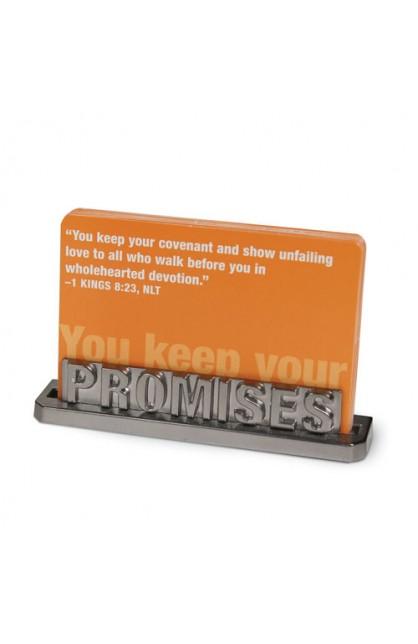 PROMISES CARD HOLDER