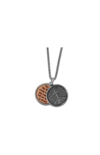 CROSS ON HILL FAITH GEAR NECKLACE