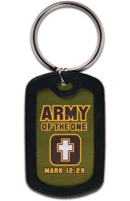 ARMY OF THE ONE KEY RING