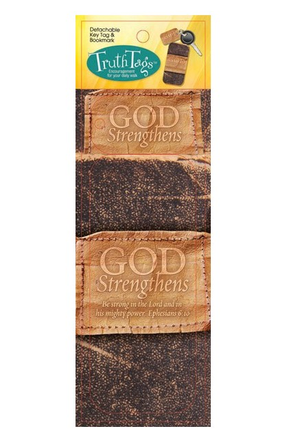 GOD STRENGTHENS TRUTH TAG